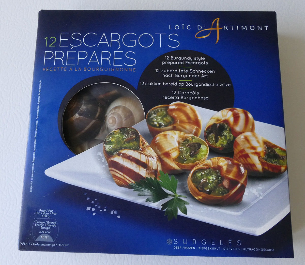 ESCARGOTS 125G – smaller