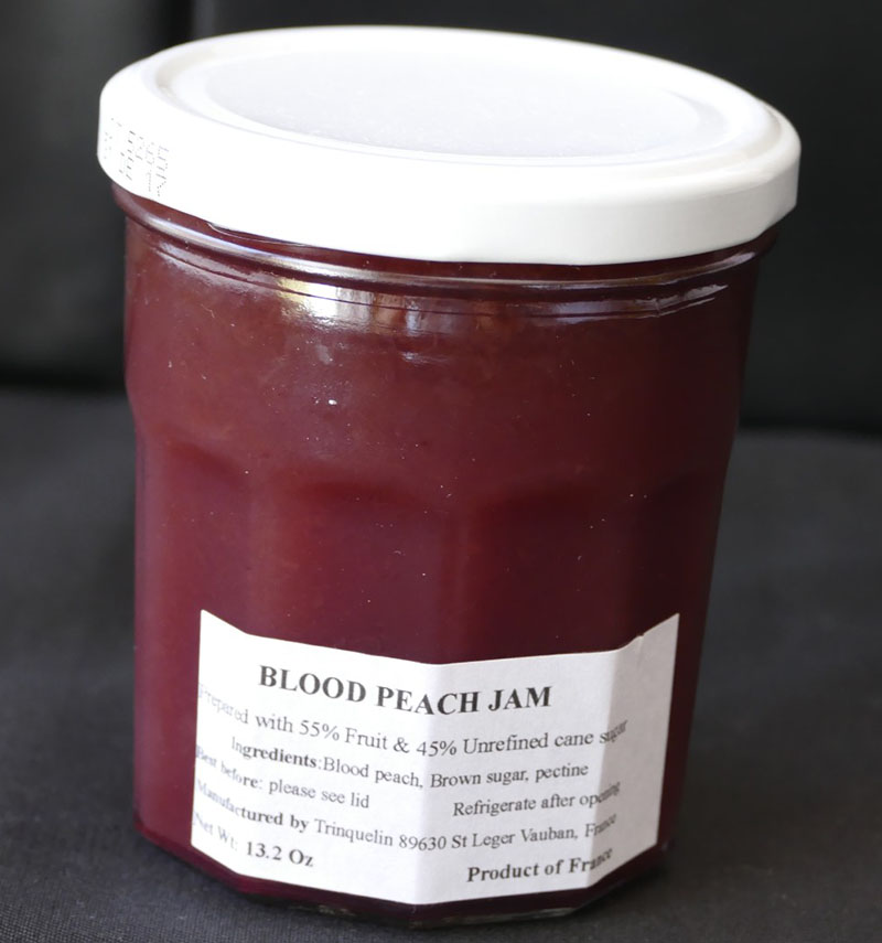 Blood peach jam-small