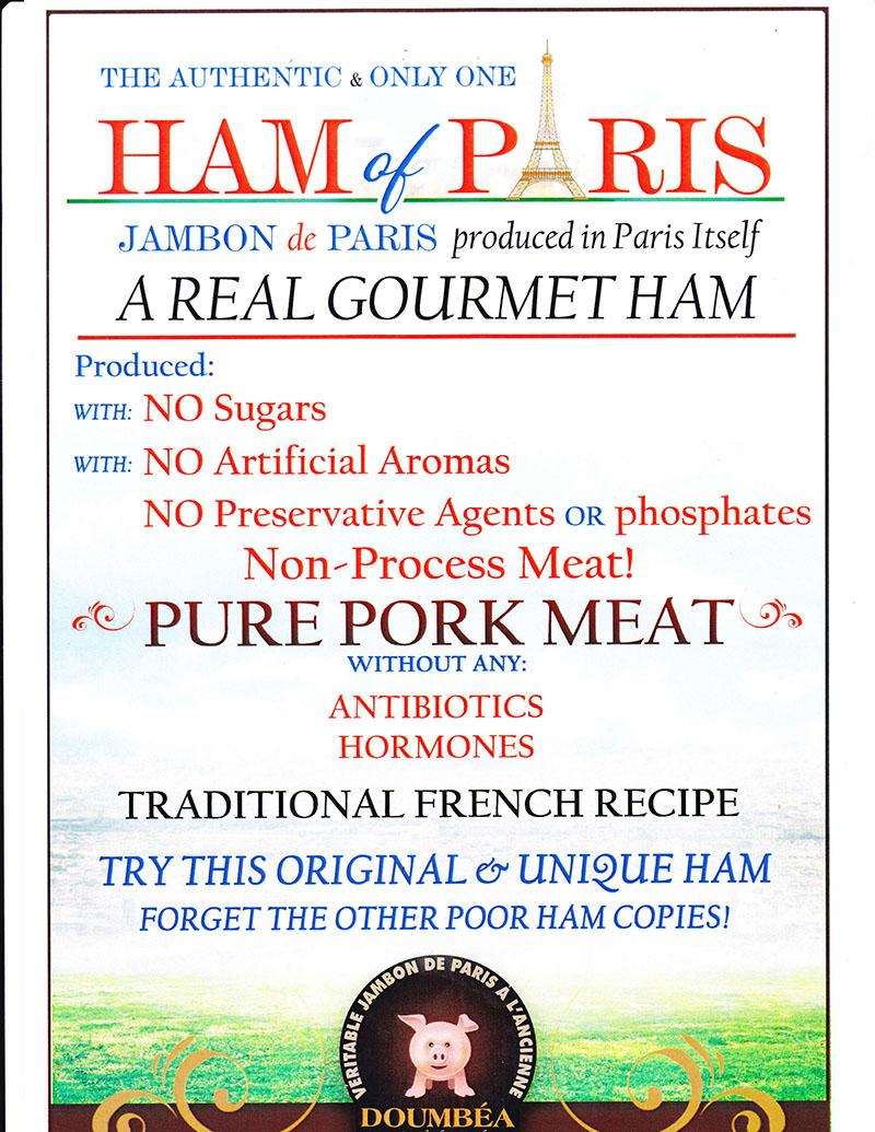 FRENCH HAM brochure